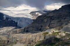 Пропуск и ледник Apls стоковое фото