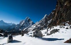 Пропуск Ла Cho в Гималаи стоковая фотография rf
