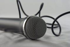 пропуск микрофона стоковое изображение