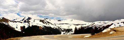 Пропуск независимости горы утесистые colorado Стоковые Фото