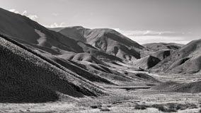 Пропуск Новая Зеландия Lindis Стоковое фото RF