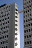 пропуск 2 зданий Стоковое Фото