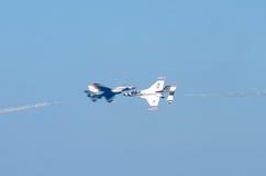 Пропуск Airshow близкий Стоковые Изображения
