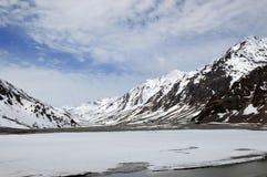 Пропуск Baralacha, Гималаи стоковые изображения