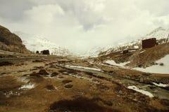 Пропуск Bernina, природа района ландшафта дикая стоковые фото