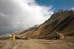 Пропуск FotoLa, Leh-Ladakh, Джамму и Кашмир, Индия Стоковое Фото
