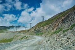 Пропуск Kaldama дороги горы стоковые изображения rf