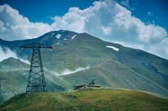 Пропуск Kaldama дороги горы стоковые фотографии rf