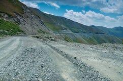 Пропуск Kaldama дороги горы стоковая фотография