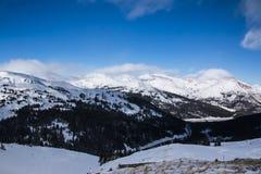 Пропуск Loveland в Колорадо стоковое фото