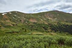 Пропуск Loveland, Колорадо стоковые изображения rf