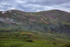 Пропуск Loveland, Колорадо стоковое фото rf