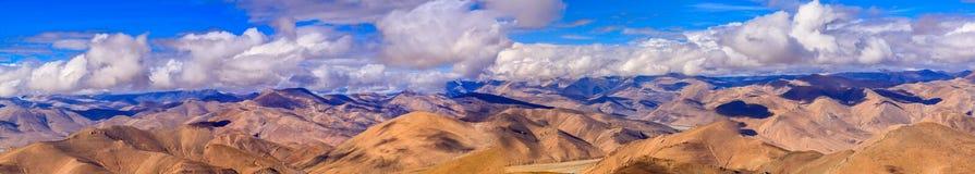 Пропуск Pangla на Тибет Стоковое Изображение RF