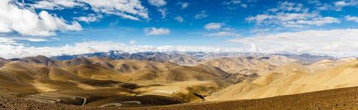 Пропуск Pangla на Тибет Стоковые Изображения RF