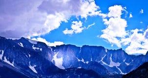 Пропуск Snowy стоковое фото rf
