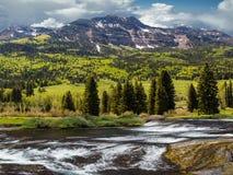 Пропуск Wolf Creek, Колорадо Стоковое Изображение