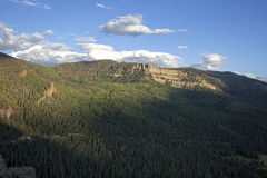Пропуск Wolf Creek Стоковое фото RF