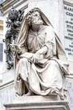 Пророк Исаия Revelli Колонка безукоризненного Консепшен, Рим Италия Стоковое Фото