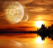 пророчество maya стоковая фотография rf