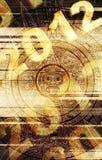 пророчество maya иллюстрация вектора