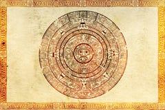 пророчество maya иллюстрация штока