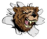Прорыв медведя иллюстрация вектора