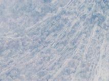 Просвечивающая голубая поверхность льда Стоковое Изображение RF