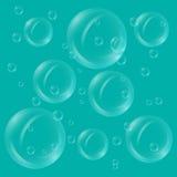 Просвечивающие пузыри иллюстрация вектора