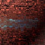 Просвечивающие стеклянные плитки Стоковые Изображения