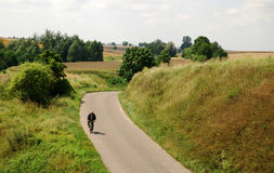 проселочная дорога сельская Стоковые Фотографии RF
