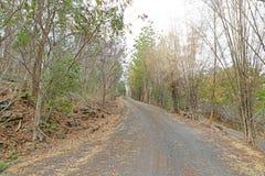 проселочная дорога Таиланд стоковое фото