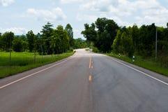 проселочная дорога Таиланд Стоковые Изображения