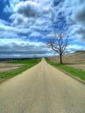 проселочная дорога Стоковое фото RF
