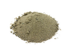 Просеянный песок реки стоковое фото