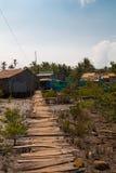 Проселочная дорога в Вьетнаме стоковые изображения