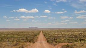 Проселочная дорога гранд-каньона Стоковая Фотография RF