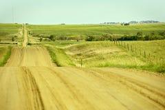 Проселочная дорога США Стоковое фото RF