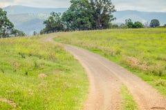 Проселочная дорога, NSW, Австралия Стоковое фото RF