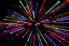 Просигналенные света Кристмас стоковая фотография