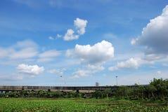 просияйте небо стоковые фотографии rf