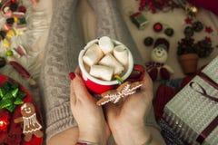 проскурняки шоколада горячие Стоковые Изображения
