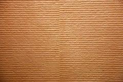Просмотренное изображение Striped рифлёного рециркулирует картон Стоковая Фотография RF