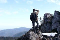Просмотр к долине Стоковое Фото