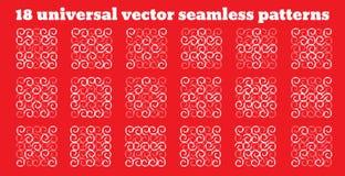 Простая абстрактная картина вектора объезжает геометрическую картину Всеобщее применение Стоковая Фотография RF