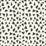 Простая безшовная картина треугольников Стоковое Изображение RF