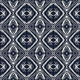 Простая геометрическая безшовная картина вектора Стоковые Изображения