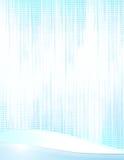 Простая голубая белая абстрактная, который граничат предпосылка Стоковые Изображения RF