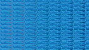 Простая голубая картина облака иллюстрация штока