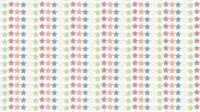 Простая красочная картина звезды иллюстрация штока