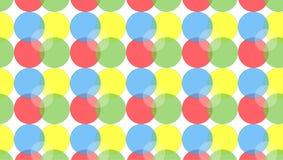 Простая красочная картина кругов бесплатная иллюстрация